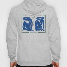 France 1961 The Blue Nudes Henri Matisse Hoody