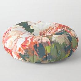Blush #nature #digitalart Floor Pillow