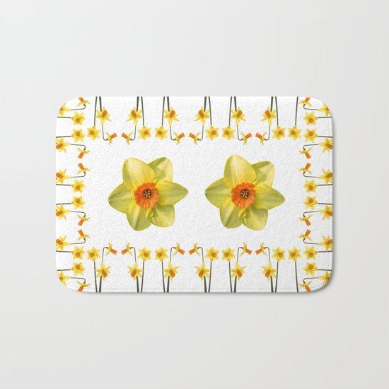 Daffodil Madness Bath Mat