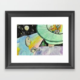 Friends of The Galaxy Framed Art Print