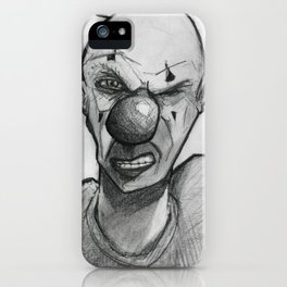 Clown number 15 iPhone Case