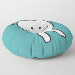 Snaggle Tooth Floor Pillow