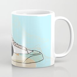 Off-White Blazer Coffee Mug