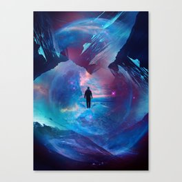 I am tired of earth Dr manhattan Canvas Print