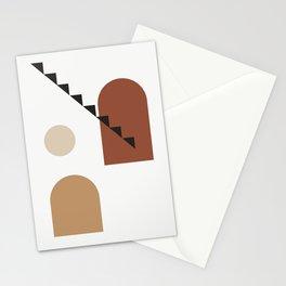 Filosofia di aristotele - Philosophy of mind abstract art illustration Stationery Cards