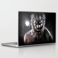 werewolf Laptop & iPad Skins featuring Werewolf by Joe Roberts