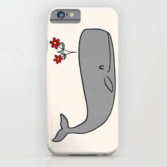 Peace Whale  iPhone & iPod Case