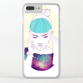 GRIMES Clear iPhone Case