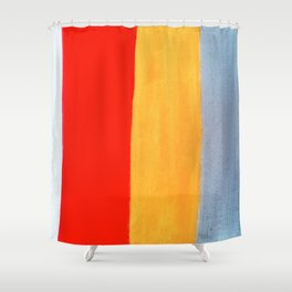 Banded Shower Curtain