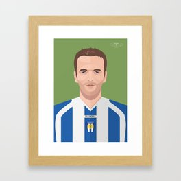 Karl Duguid - Colchester United Legends Framed Art Print