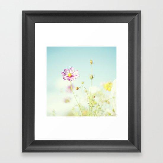 A little bit of  heaven. Framed Art Print