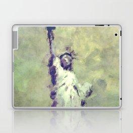 Textured Statue of Liberty Laptop & iPad Skin