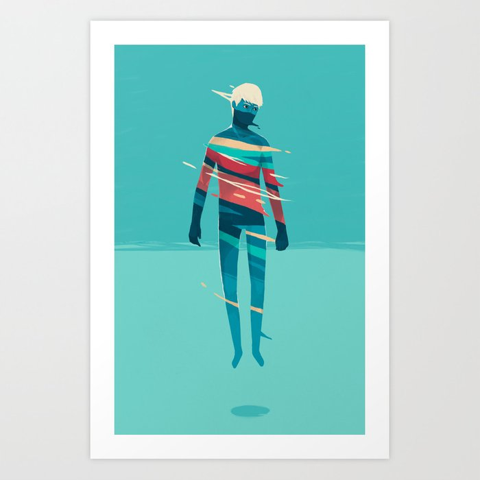 Movement 01 Art Print