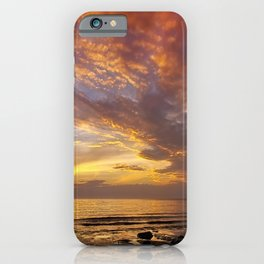 Lingering Sunset iPhone Case