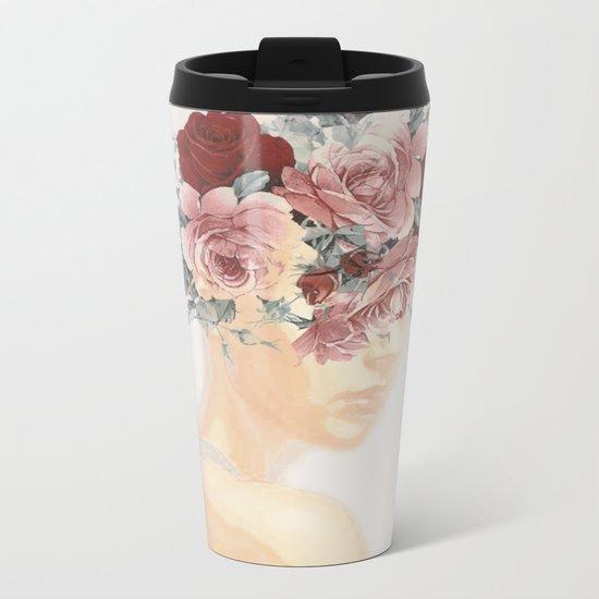 Woman Sensitivity Metal Travel Mug