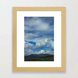 Whistler Rise Framed Art Print