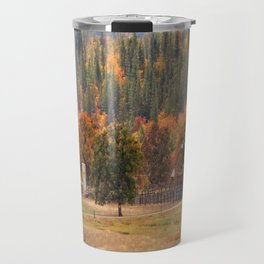 Fall beauty in Hayfork, California..... Travel Mug