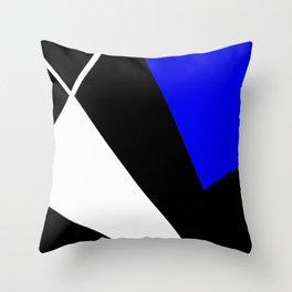 Digital blocks 1 digital painting blocks Throw Pillow