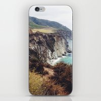 big sur iPhone & iPod Skins featuring Big Sur by Holly
