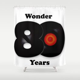 80's The Wonder years Shower Curtain