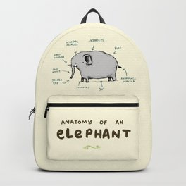 Anatomy of an Elephant Backpack