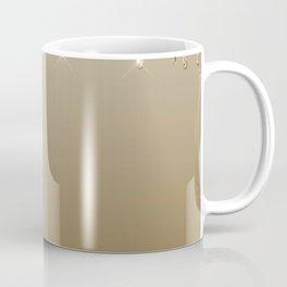 Beautiful Glittered Ice Cream Dripping Pattern Coffee Mug