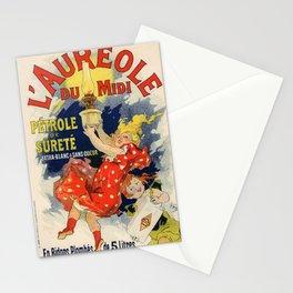 L Aureole Du Midi P Trole De Suret 1900 By Jules Cheret | Reproduction Art Nouveau Stationery Cards