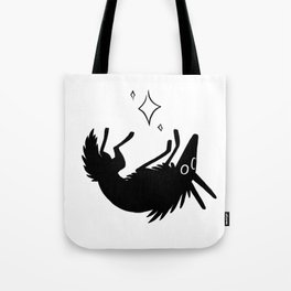 Wolf and Stars Tote Bag