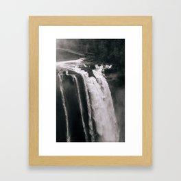 Go Chasing Waterfalls Framed Art Print