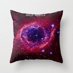 HELIX NEBULA. Throw Pillow