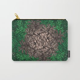 Pine Needles and Cones I Carry-All Pouch