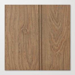 Vintage Wood Panel Canvas Print