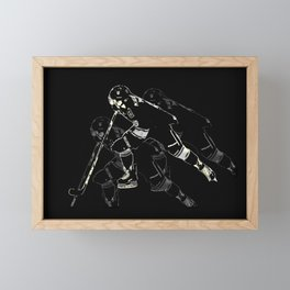 Hockey Mania Framed Mini Art Print