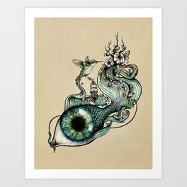 Flowing Inspiration Art Print