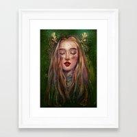 xmas Framed Art Prints featuring Xmas by yen nhi