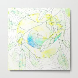 Nido | Granatovych Artwork | Oils on Water and Watercolors Metal Print