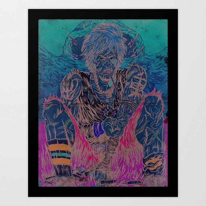 Junkie Art Print