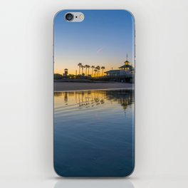 Wet Sand Sunrise iPhone Skin