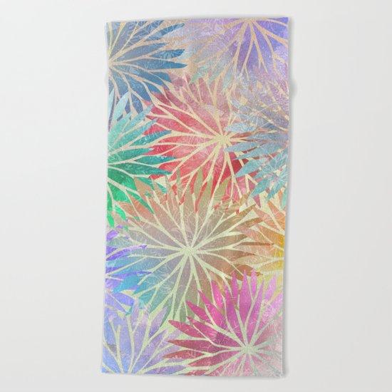 Summer Pattern #3 Beach Towel
