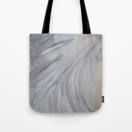 Abstract Morning Fog Tote Bag
