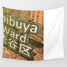 Area Name Wall Tapestry