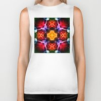 dna Biker Tanks featuring DNA 1 by Steve Purnell