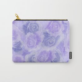 Rosey Purple Carry-All Pouch