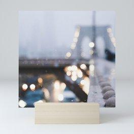 Bokeh Bridge Mini Art Print