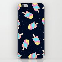 psychadelic iPhone & iPod Skins featuring Popsicles in Space by Popsicle Illusion