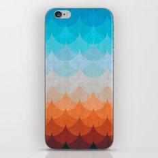 Colorful minimalist waves II iPhone & iPod Skin