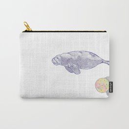 Space Manatee Carry-All Pouch