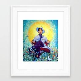 The Sun Prince Framed Art Print
