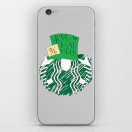 Starbucks 'We're All Mad Here' iPhone Skin