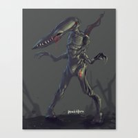 odd future Canvas Prints featuring Odd by Benedick Bana
